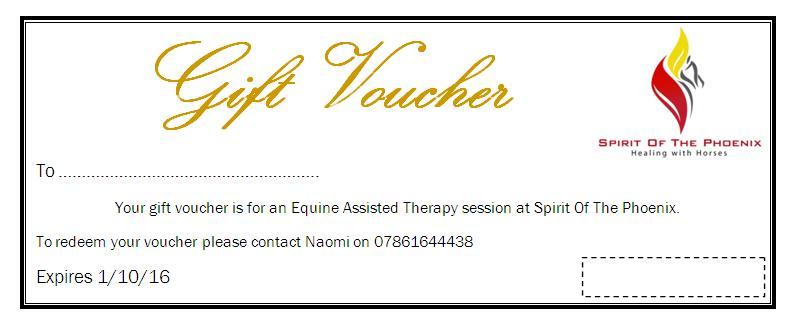 Gift Voucher Available